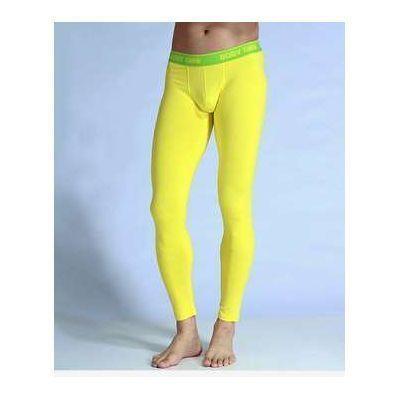 Мужские кальсоны желтые Good Men Wear Long Johns