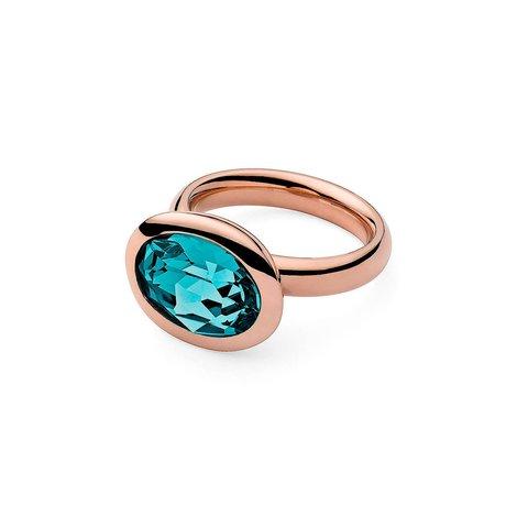 Кольцо Tivola Indicolite 18.5 мм 631466/18.5 BL/RG