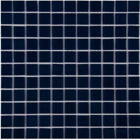 Мозаика стеклянная Aquaviva Сristall темный кобальт LM60 / 19925