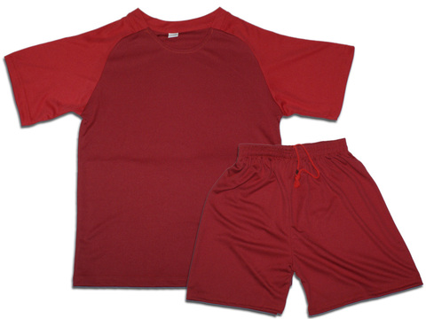 Форма футбольная. Цвет красный. Размер 48. Материал: полиэстер. F-СН-48# EU-42#