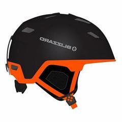 Горнолыжный шлем Blizzard Double black matt/neon orange