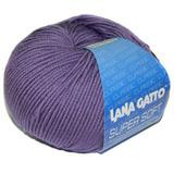 Пряжа Lana Gatto Supersoft 13335 фиолетовый