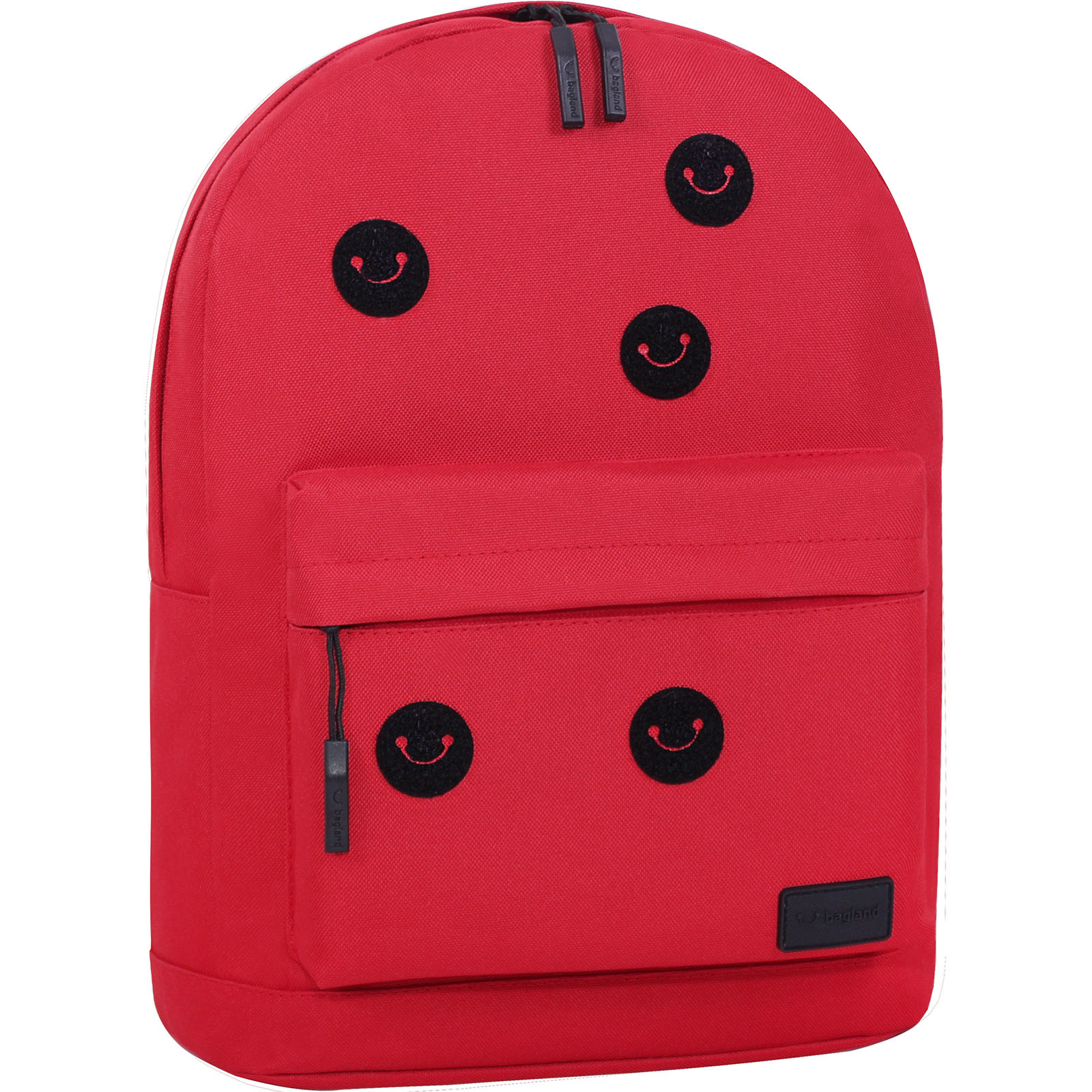 Рюкзак Bagland Молодежный W/R 17 л. 148 красный (00533662 Ш) фото 2