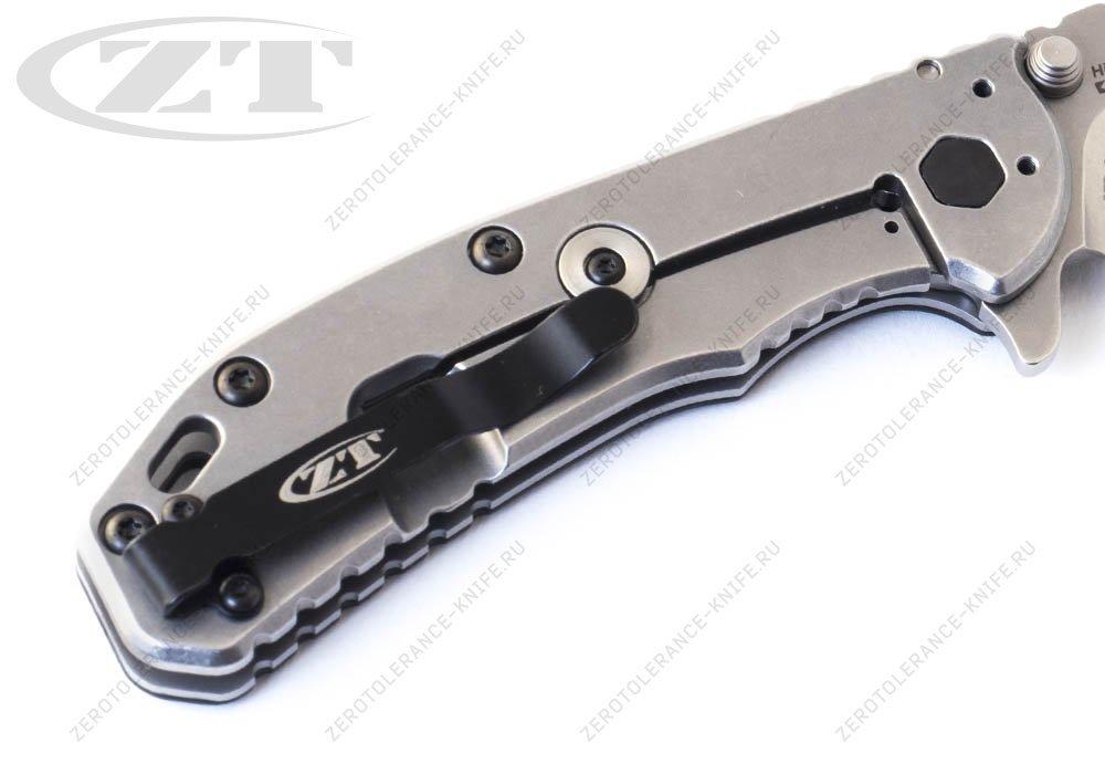 Нож ZERO TOLERANCE 0566CF Elmax Hinderer - фотография