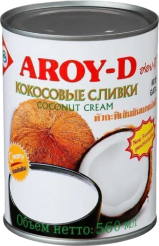 Сливки Aroy-D кокосовые 70%, 560 мл