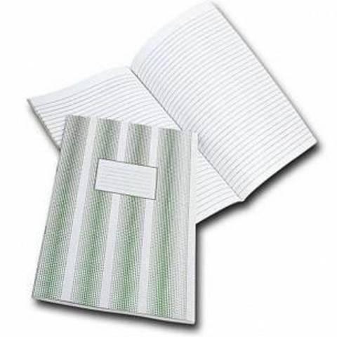Книга учета 60 л. лин. офс. А4 мел. карт. вертик.