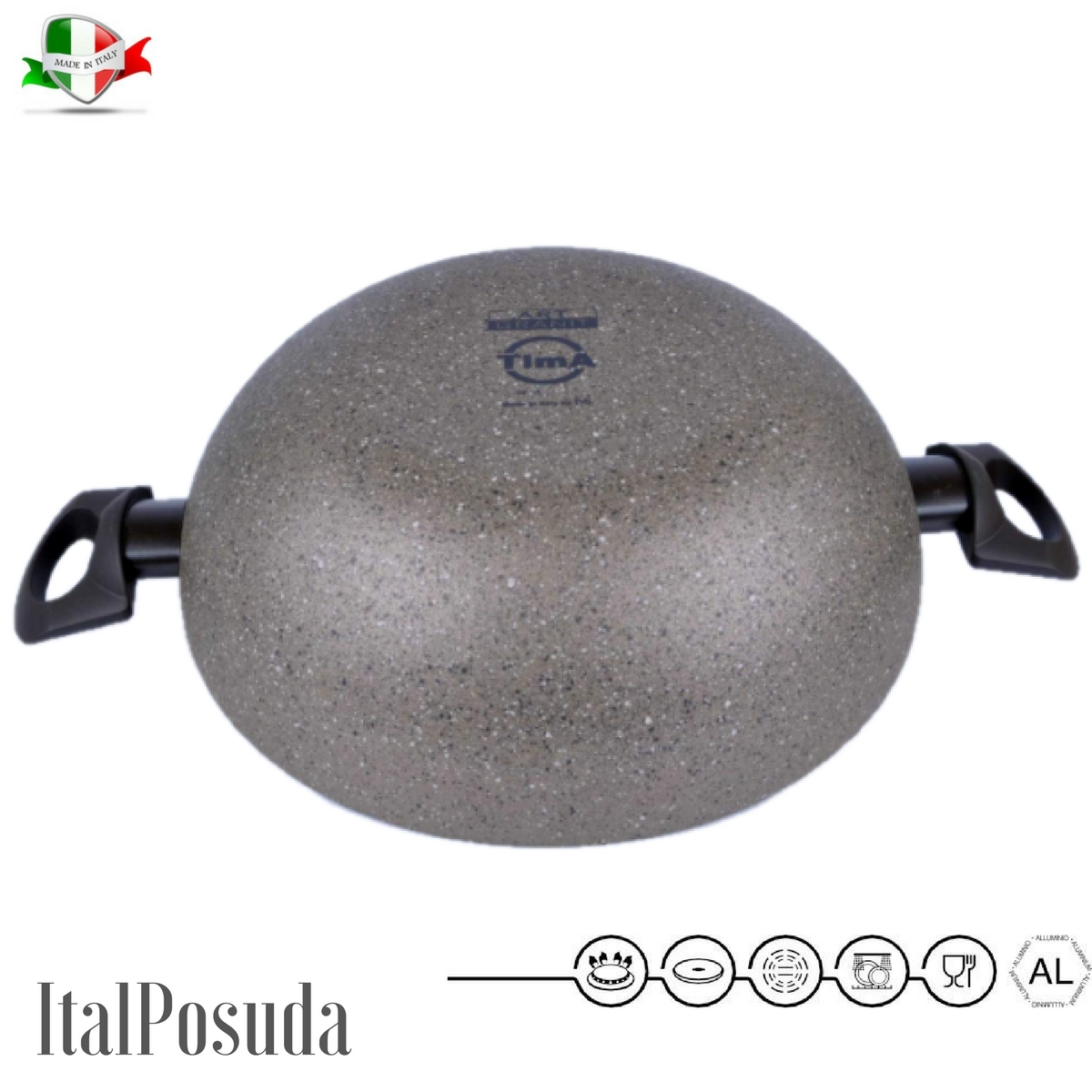 Сковорода Вок TIMA Art Granit, 28 см