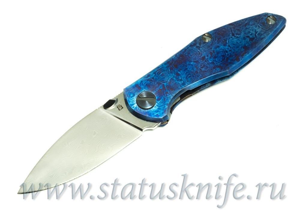 Нож Чебуркова Custom Тукан тимаскус и дамаск
