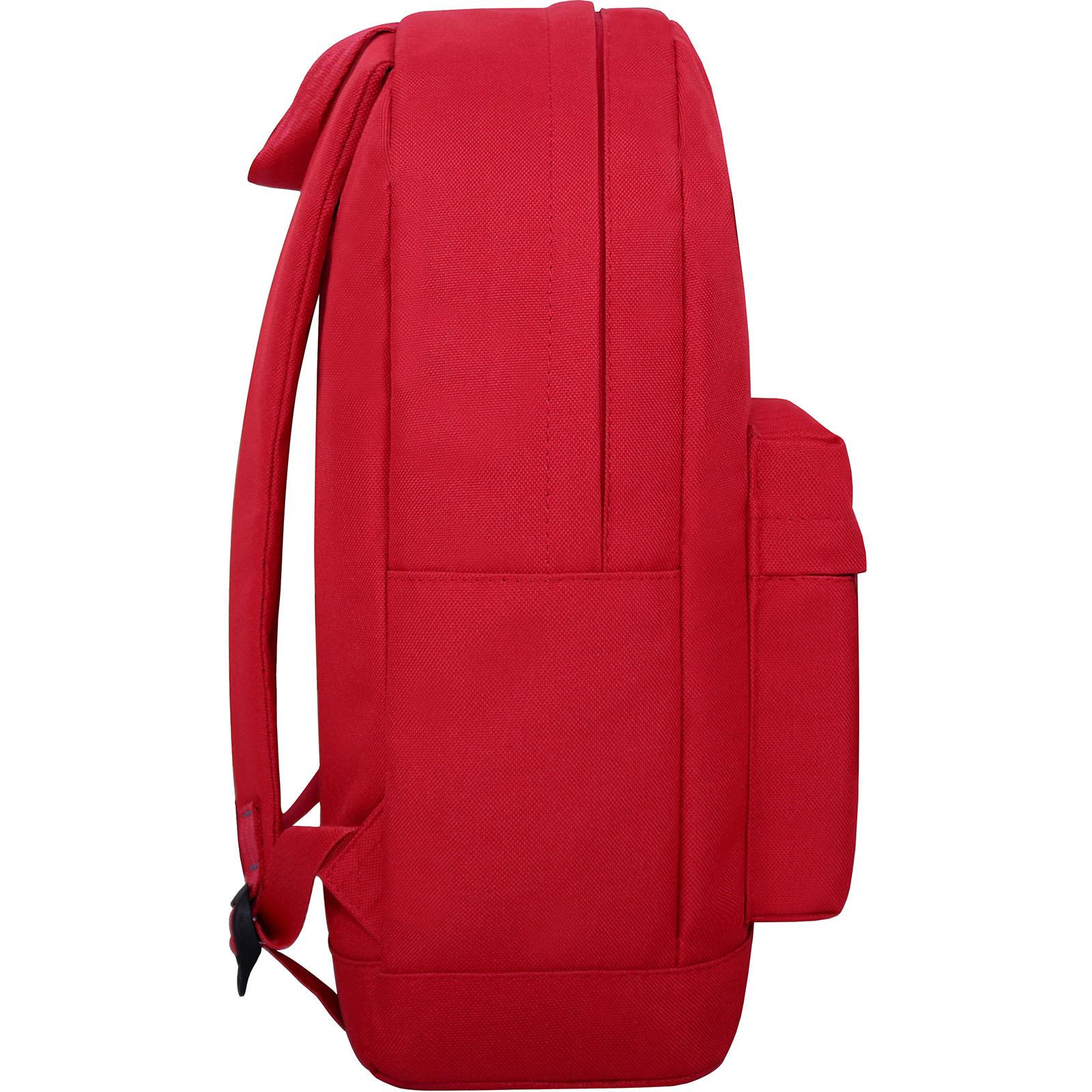 Рюкзак Bagland Молодежный W/R 17 л. 148 красный (00533662 Ш) фото 3
