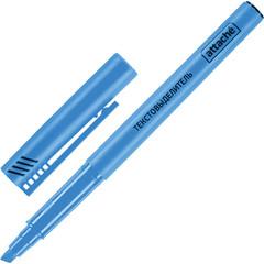 Текстовыделитель Attache синий (толщина линии 1-3 мм)