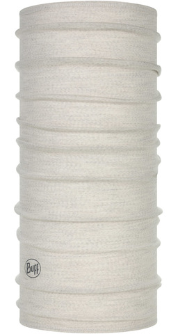 Тонкий шерстяной шарф-труба Buff Wool lightweight Solid Cloud фото 1