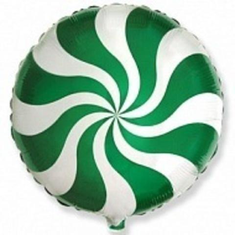 Конфета - зеленая