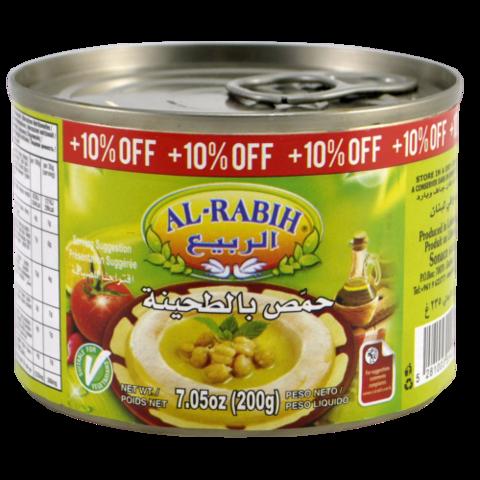 Хумус с тахини Al-Rabih, 200г