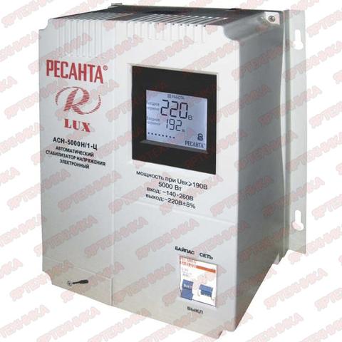 Стабилизатор АСН-5 000Н/1-Ц Lux Ресанта в интернет-магазине ЯрТехника