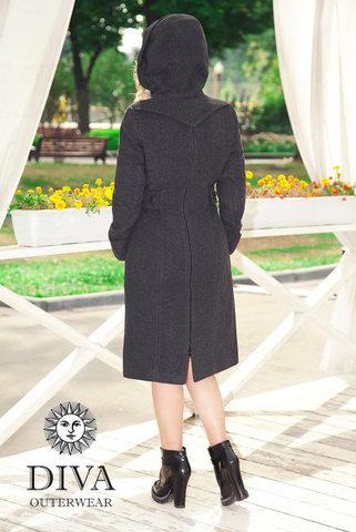 Слингопальто демисезонное 4в1 Diva Outerwear Antracite