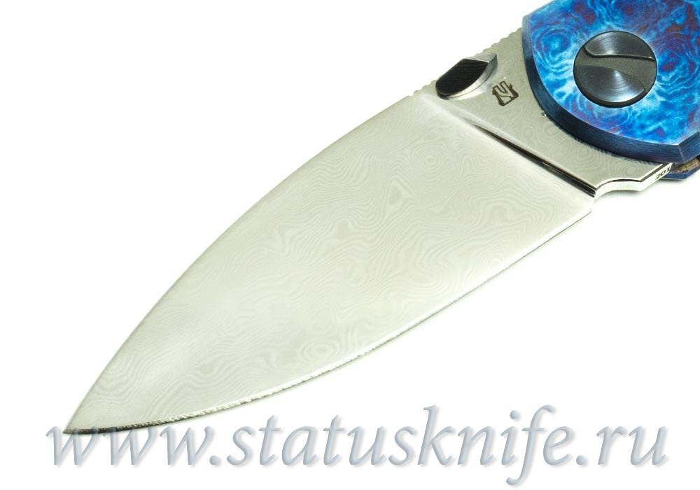 Нож Чебуркова Custom Тукан тимаскус и дамаск - фотография