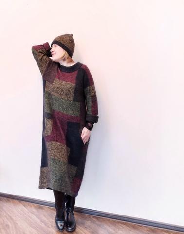 Набор пряжи для вязания Платья с цветными блоками