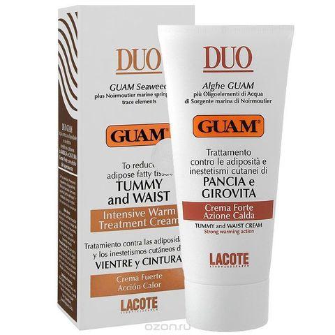 Guam DUO Крем для живота и талии с разогревающим эффектом