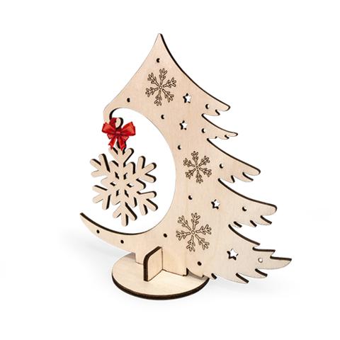 Новогодняя ёлочка со снежинкой (Lemmo)