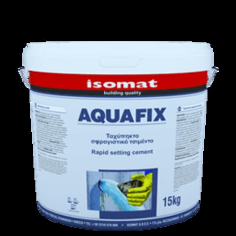 Isomat Aquafix/Изомат Аквафикс сухая строительная смесь на основе цемента для моментальной остановки протечек воды