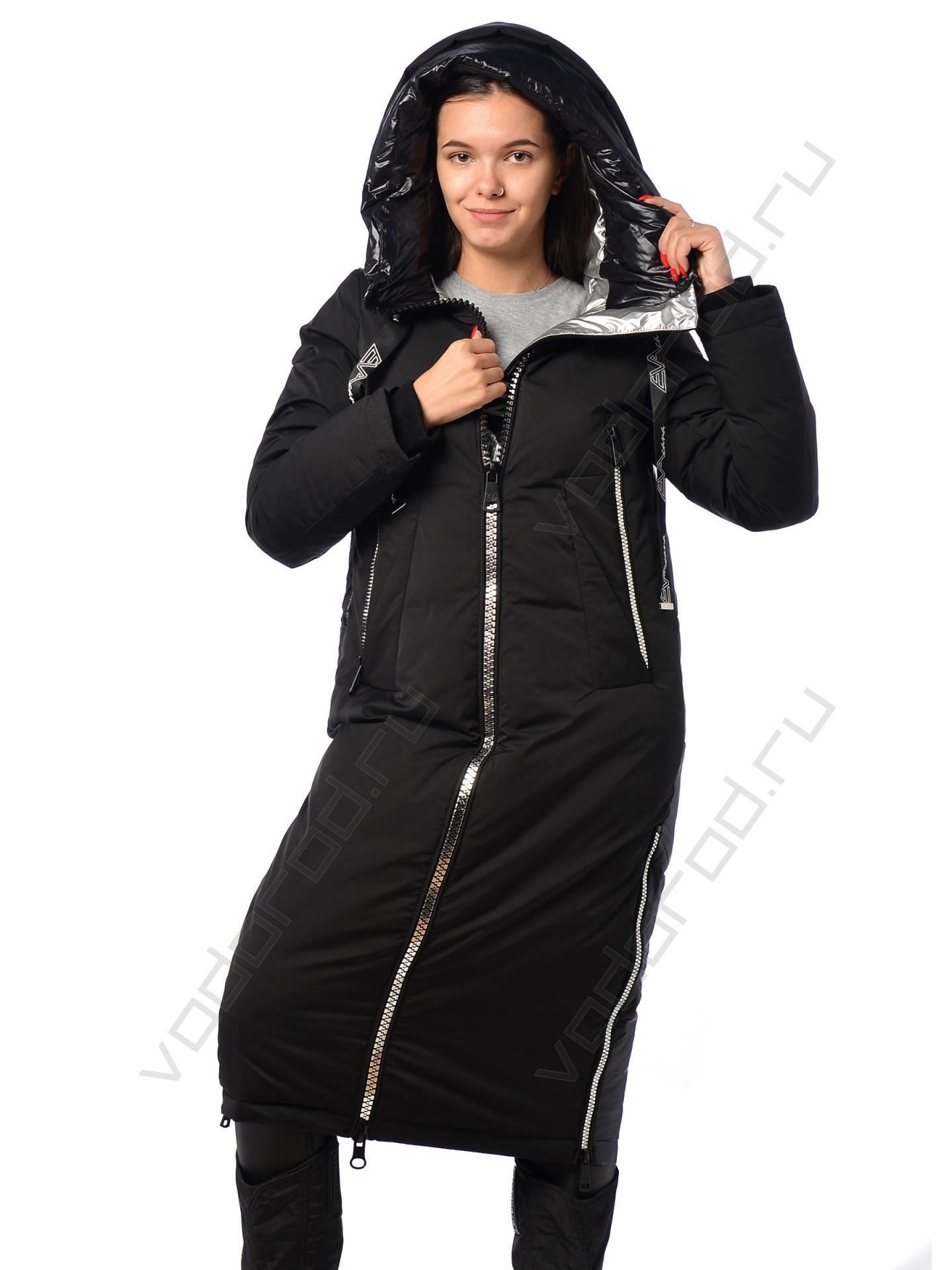 Удлиненная зимняя женская куртка в Хабаровске купить в интернет-магазине