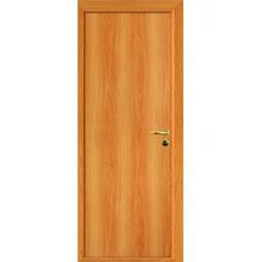 ОЛОВИ Дверное полотно ответная часть глухое миланский орех 300х2000мм с фурнитурой