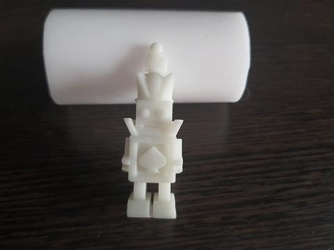 Силиконовый молд Робот малый  3 D