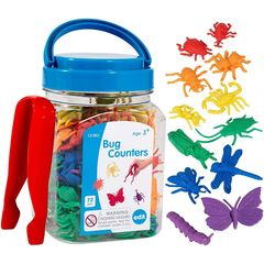 Развивающая игрушка фигурки Насекомые (счетный материал, 73 элемента) Edx education, арт. 13180J