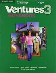 Ventures Second Edition 3 Workbook with Audio CD