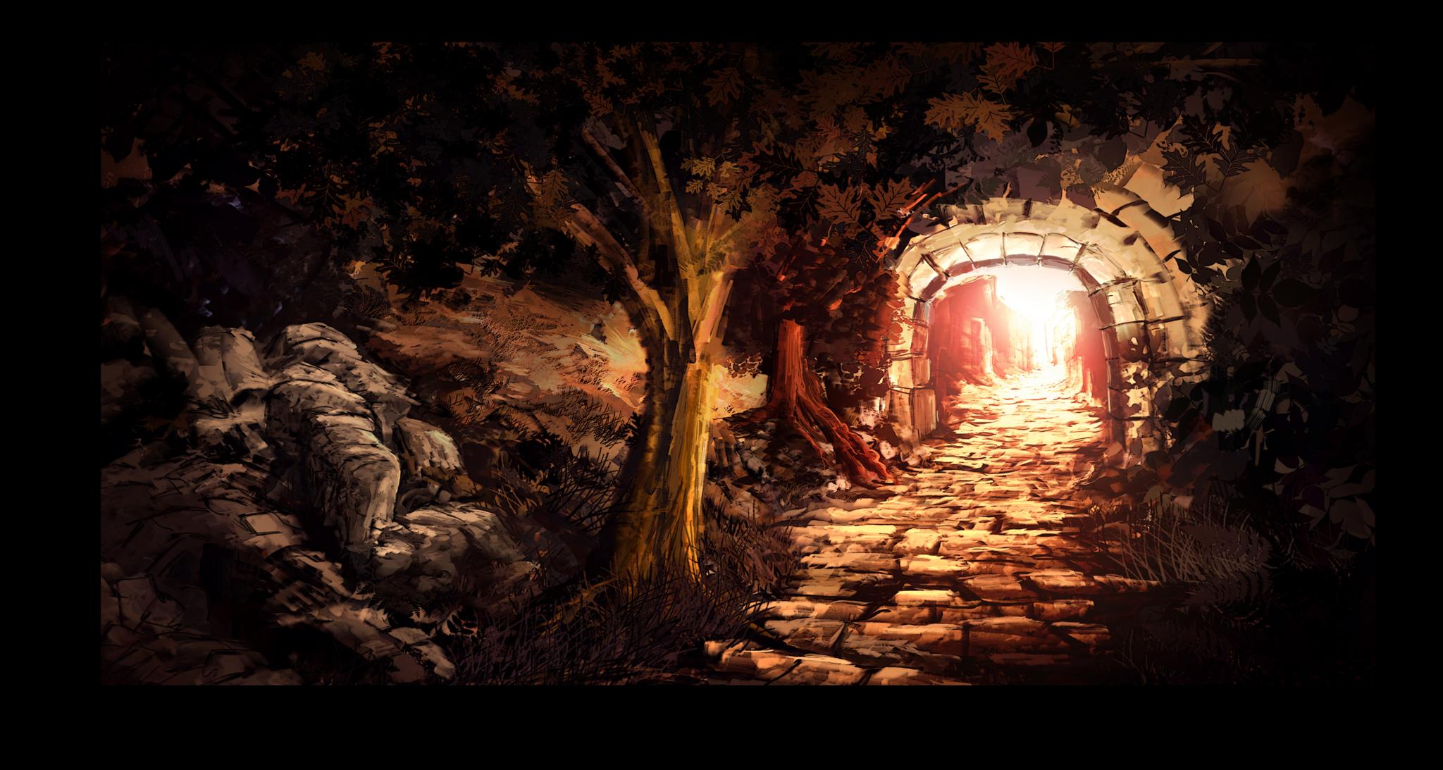 """Постеры Постер """"Таинственная арка"""" п226.png"""