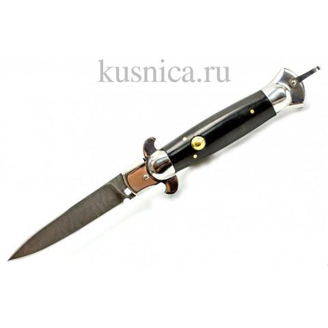 Нож Флинт, дамасская сталь, Медтех