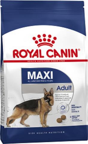 Royal Canin Maxi Adult сухой корм для собак крупных пород от 15 месяцев до 5 лет