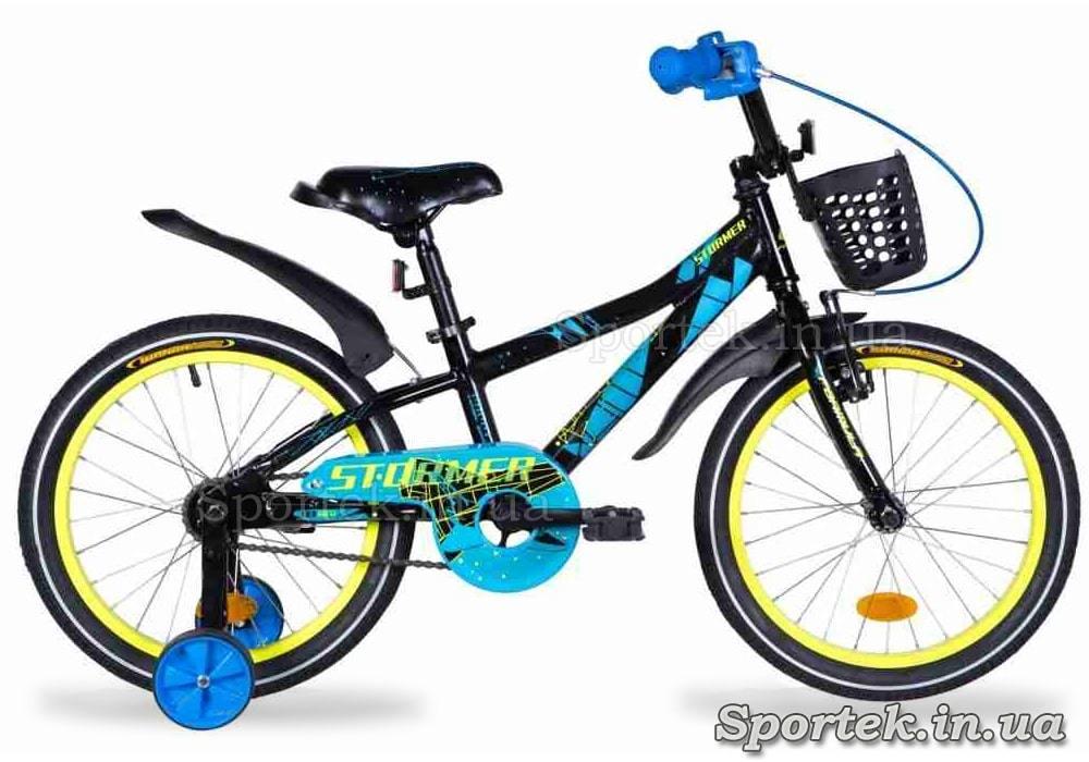 Дитячий велосипед Formula STORMER колеса 18