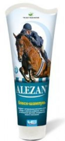 Alezan Shine - shampoo for mane and tail of horses (250 ml)