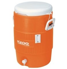 Изотермический пластиковый контейнер Igloo 10 GAL Orange