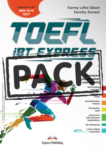 TOEFL iBT EXPRESS WITH DIGIBOOK APP