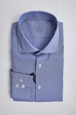 Van Laack Royal Сорочка в узор плетением с длинным рукавом