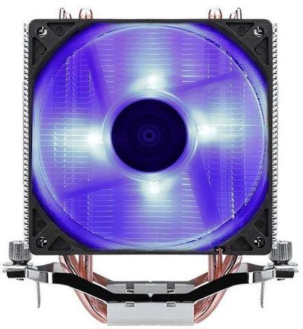 Устройство охлаждения(кулер) Aerocool Verkho 4 Lite Soc-FM2+/AM2+/AM3+/AM4/1150/1151/1155/2011 4-pin 19-27dB Al+Cu 125W 571gr LED Ret