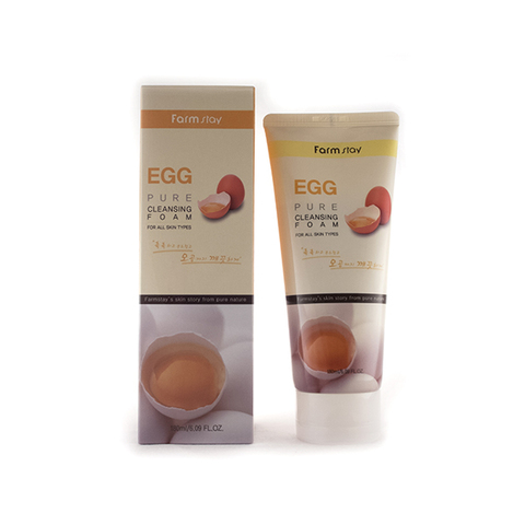 FarmStay EGG PURE CLEANSING FOAM