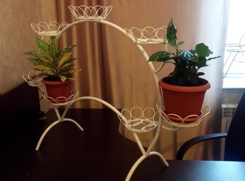 Подставка для цветов на 7 горшков «Ромашки»