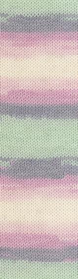 Пряжа Alize Baby Wool Batik мят-роз 6541