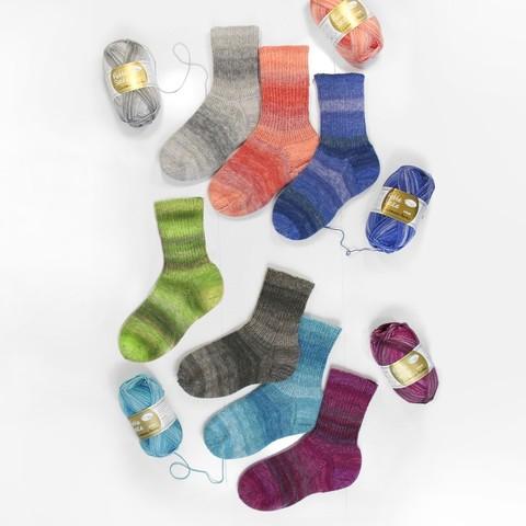 Rellana Flotte Socke Cashmere Merino 1329