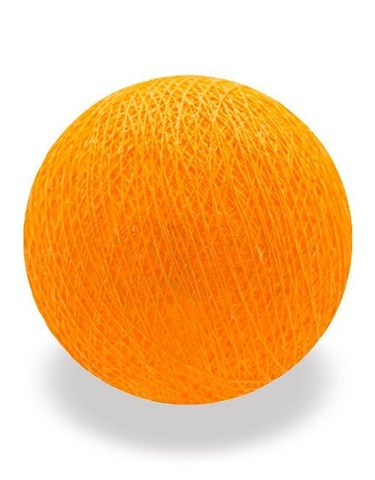 Хлопковый шарик апельсиновый