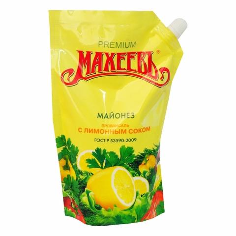 Майонез МАХЕЕВЪ Провансаль с лимонным соком 770 г ДП ДЗ РОССИЯ