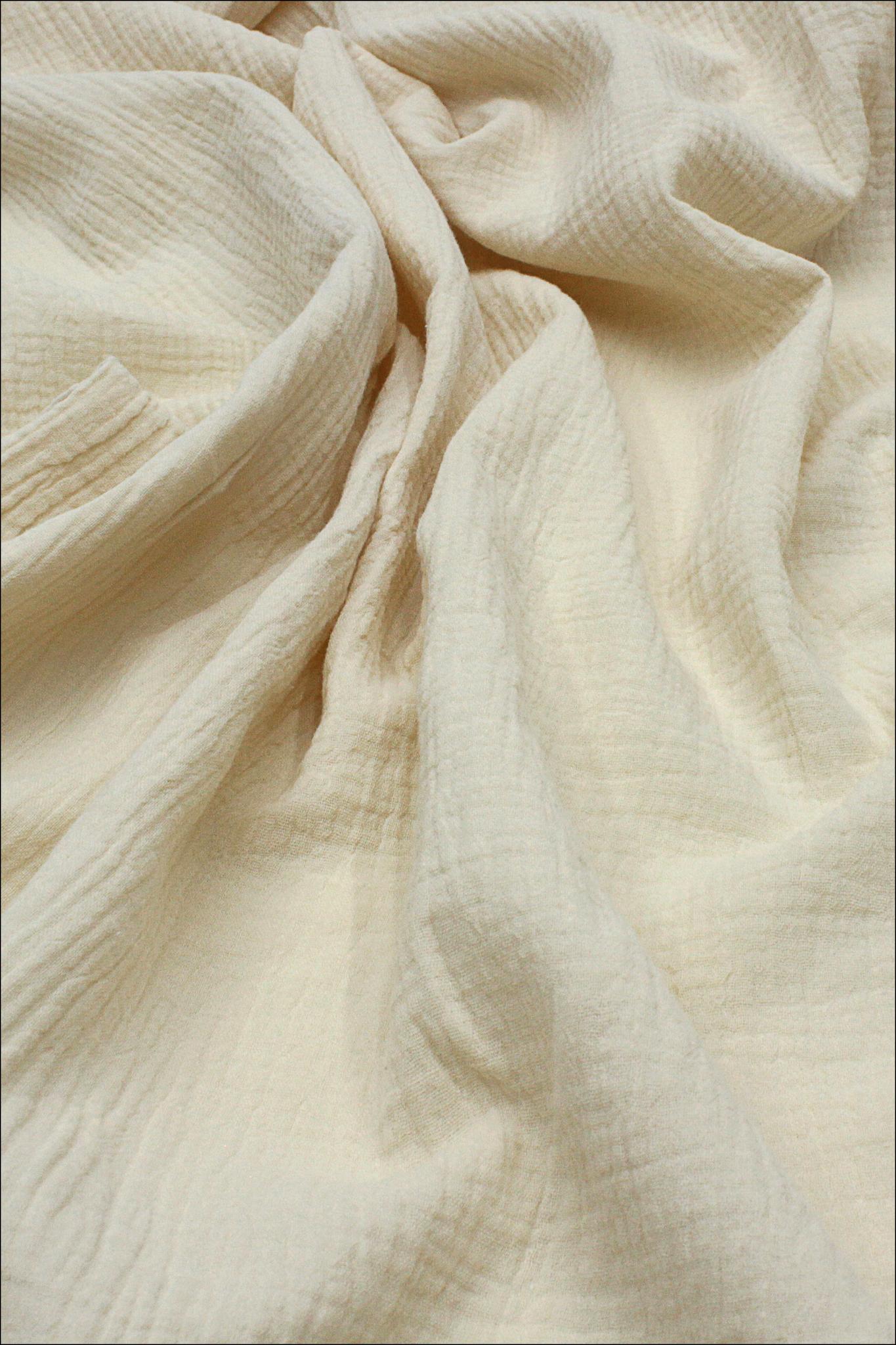 Ткань муслиновая,молочный