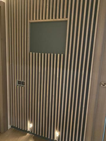 Мебельный брус в интерьере №17