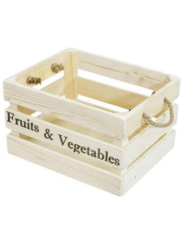Ящик деревянный малый 230*290*190