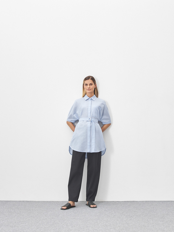 Рубашка Gemma с кольцами на поясе