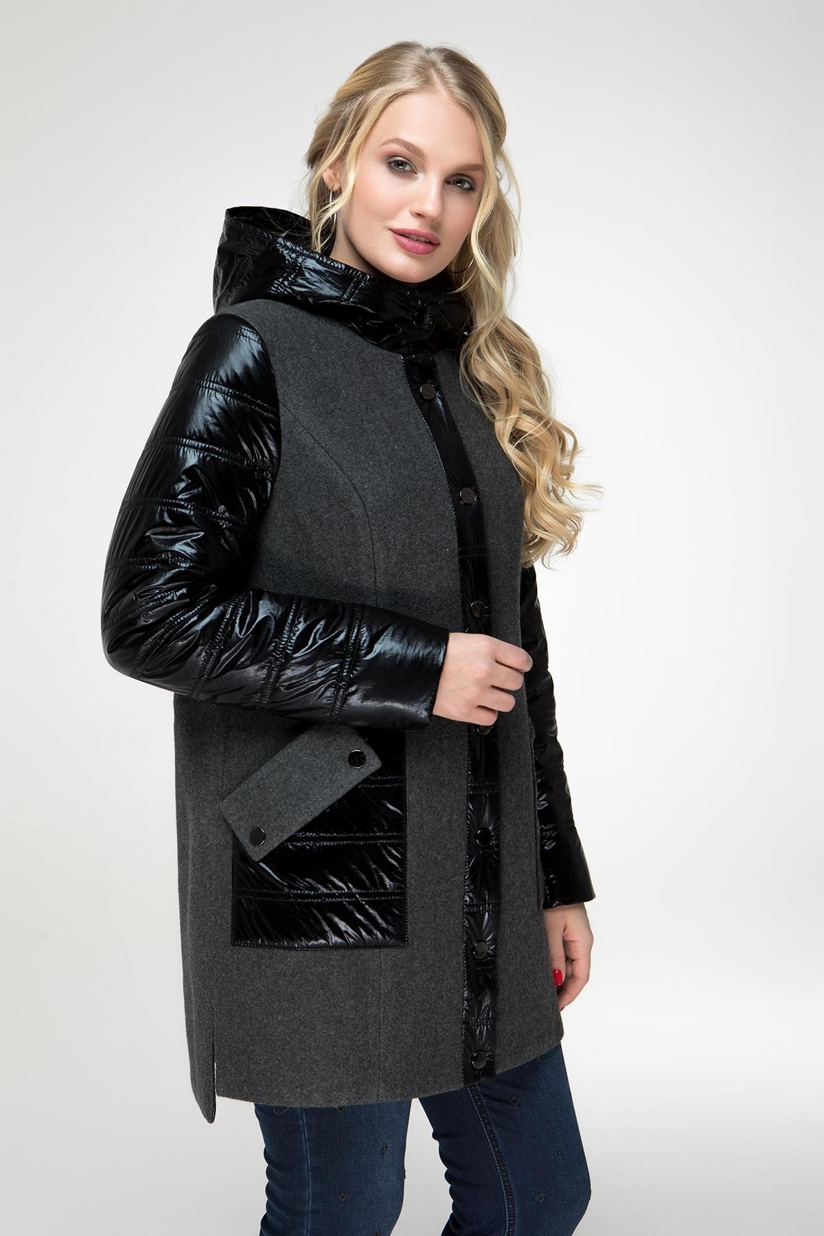 Пальто Астана (темно-серый)