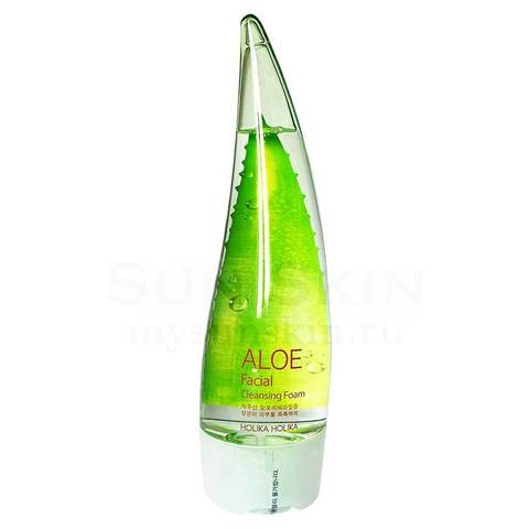 Holika Holika Пенка для лица с соком алое Aloe Facial cleansing foam 150 мл